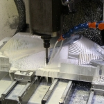Protótipo Luminária em alumínio